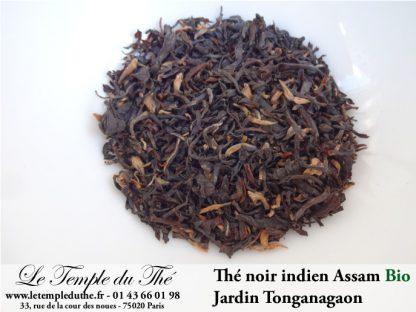 Thé noir indien Bio