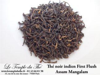 Thé noir indien printemps Assam Mangalam F.T.G.F.O.P.1