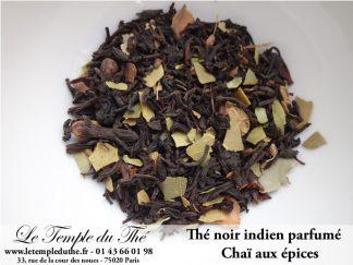 Thé noir indien Chaï aux épices