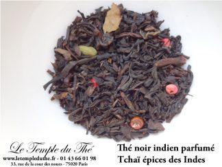 Thé noir indien, Nilgiri, Tchaï épices des Indes