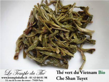Thé vert du Vietnam BIO Che Shan Tuyet printemps 2020