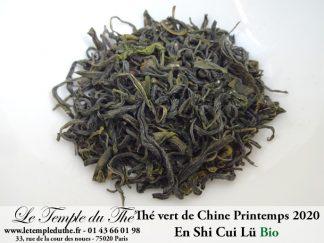 Thé vert de Chine En Shi Cui Lü (Hubei) BIO 2020