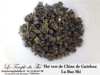 Thé vert chinois de Guizhou LU BAO SHI