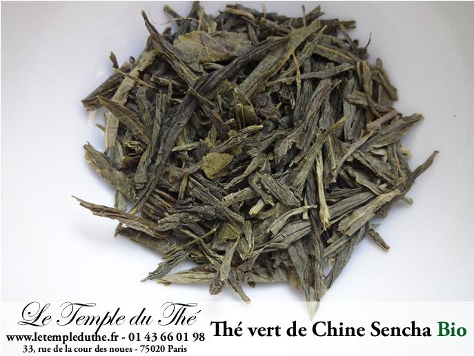 Thé vert de Chine Sencha BIO Zhejiang