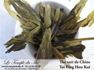 Thé vert de Chine Taï Ping Hou Kui printemps