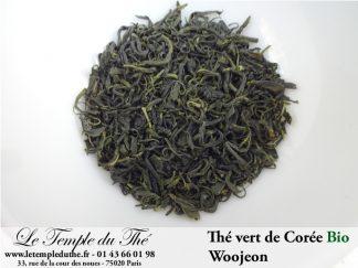 Thé vert Woojeon de Corée BIO