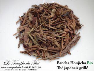 Thé vert du Japon Bancha Houjicha Bio