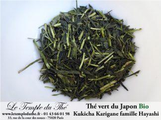 Thé vert BIO du Japon Kukicha Karigane 2019