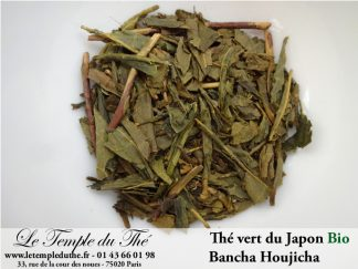 Thé du Japon Bancha Houjicha (peu grillé) BIO petits producteurs