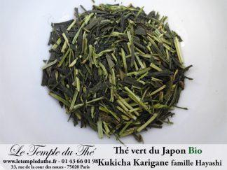 Thé vert BIO du Japon Kukicha Karigane 2020