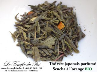 Thé vert du Japon Sencha orange BIO