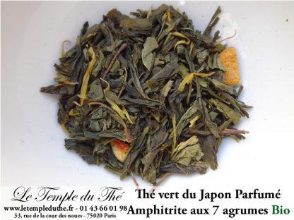 Thé vert du Japon Amphitrite (7 agrumes) BIO