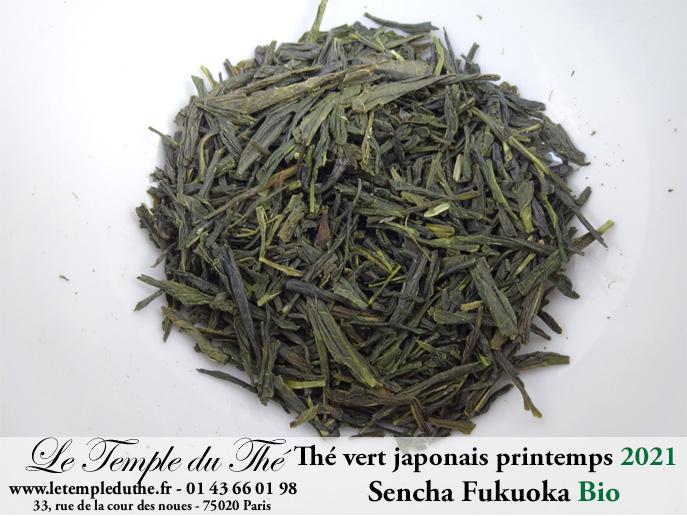 Thé vert bio du Japon Fukuoka 2021