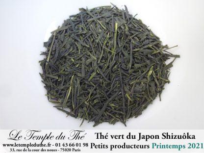 Thé du Japon Sencha Shizuôka printemps 2021