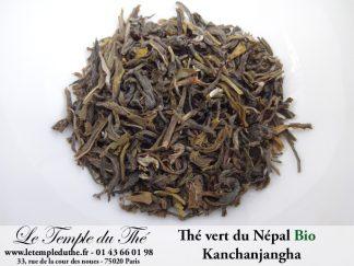 Thé vert du Népal BIO Kanchanjangha 1ère récolte du printemps 2020 TGFOP1