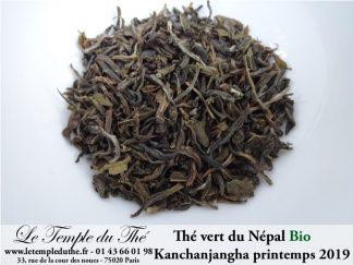 Thé vert du Népal bio
