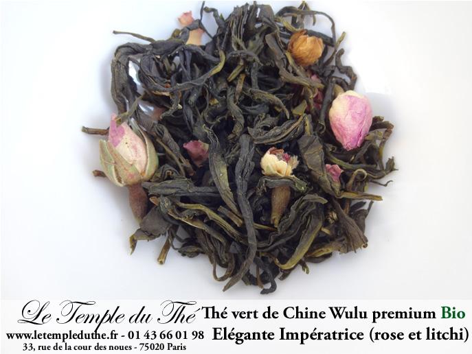 Thé vert de Chine bio Wulu Premium