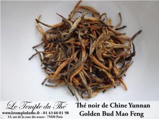 Thé noir de Chine printemps Yunnan Golden Bud Mao Feng T.G.F.O.P