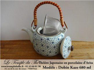Théière en porcelaine d'Arita Dobin Kaze 680 ml