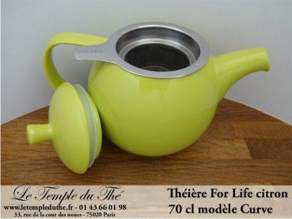 Théière FOR LIFE. Curve 0.7 L grise