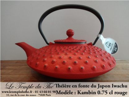 theire Japon Kanbin rouge