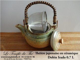 Théière en céramique japonaise 0.7 L Dobin Irado