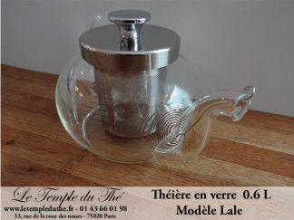 """Théière en verre 600 ml modèle """"LALE"""""""