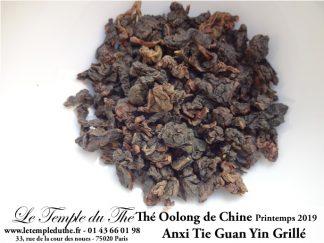 Oolong de Chine printemps 2019 Tie Guan Yin Grillé