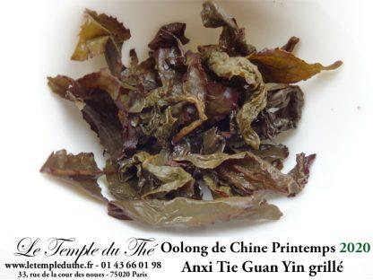 Oolong de Chine printemps 2020 Tie Guan Yin Grillé