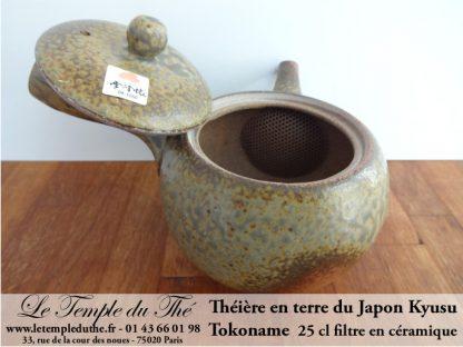 TOKONAME Kyusu du Japon Céramique 25 cl environ