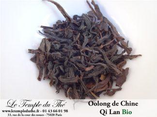 Thé Wulong (Oolong) de Chine QI LAN BIO