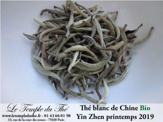 Thé blanc Yin Zhen BIO printemps 2019