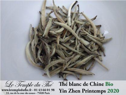 Thé blanc Yin Zhen BIO printemps 2020