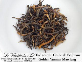 Thé noir Golden Yunnan Mao Feng